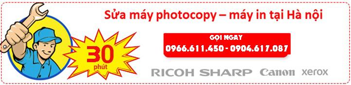 Sửa chữa máy photocopy giá rẻ, nhanh chóng tại Hà Nội