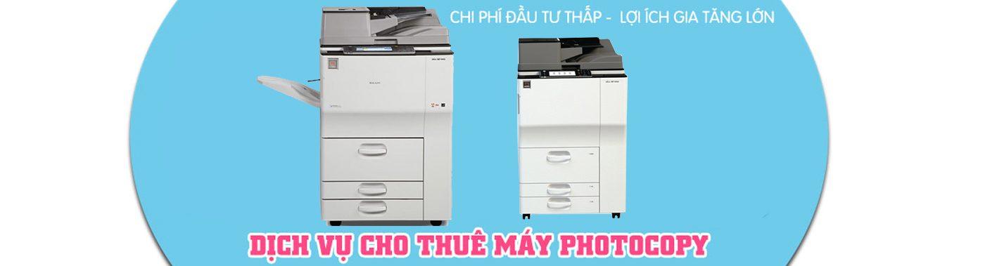 Slideshow Dịch vụ cho thuê máy photocopy